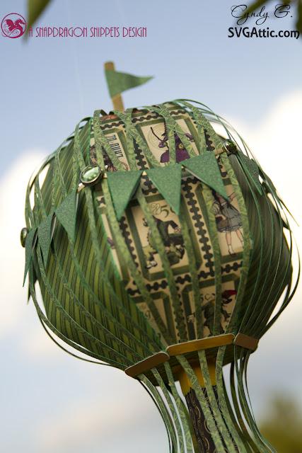 3d paper balloon