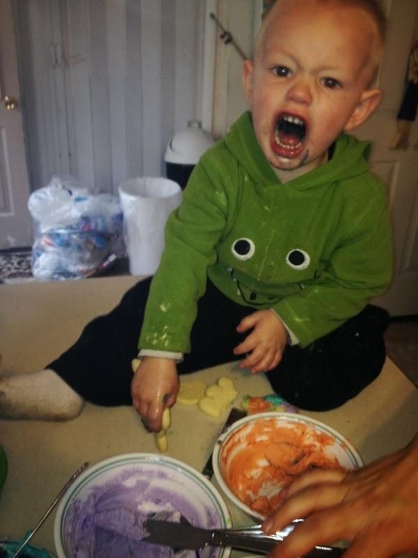 My nephew Daxsen