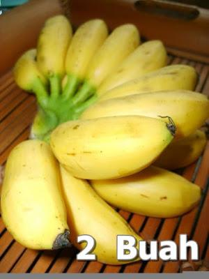 camilan sehat cake pisang kismis
