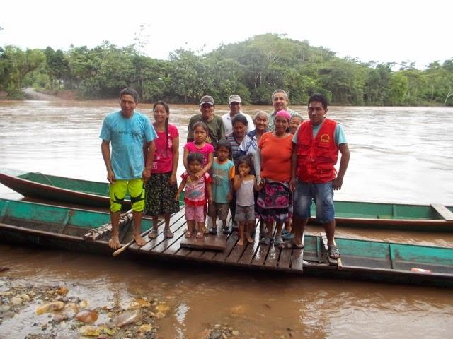 Omaiz River, Villa America, Peru