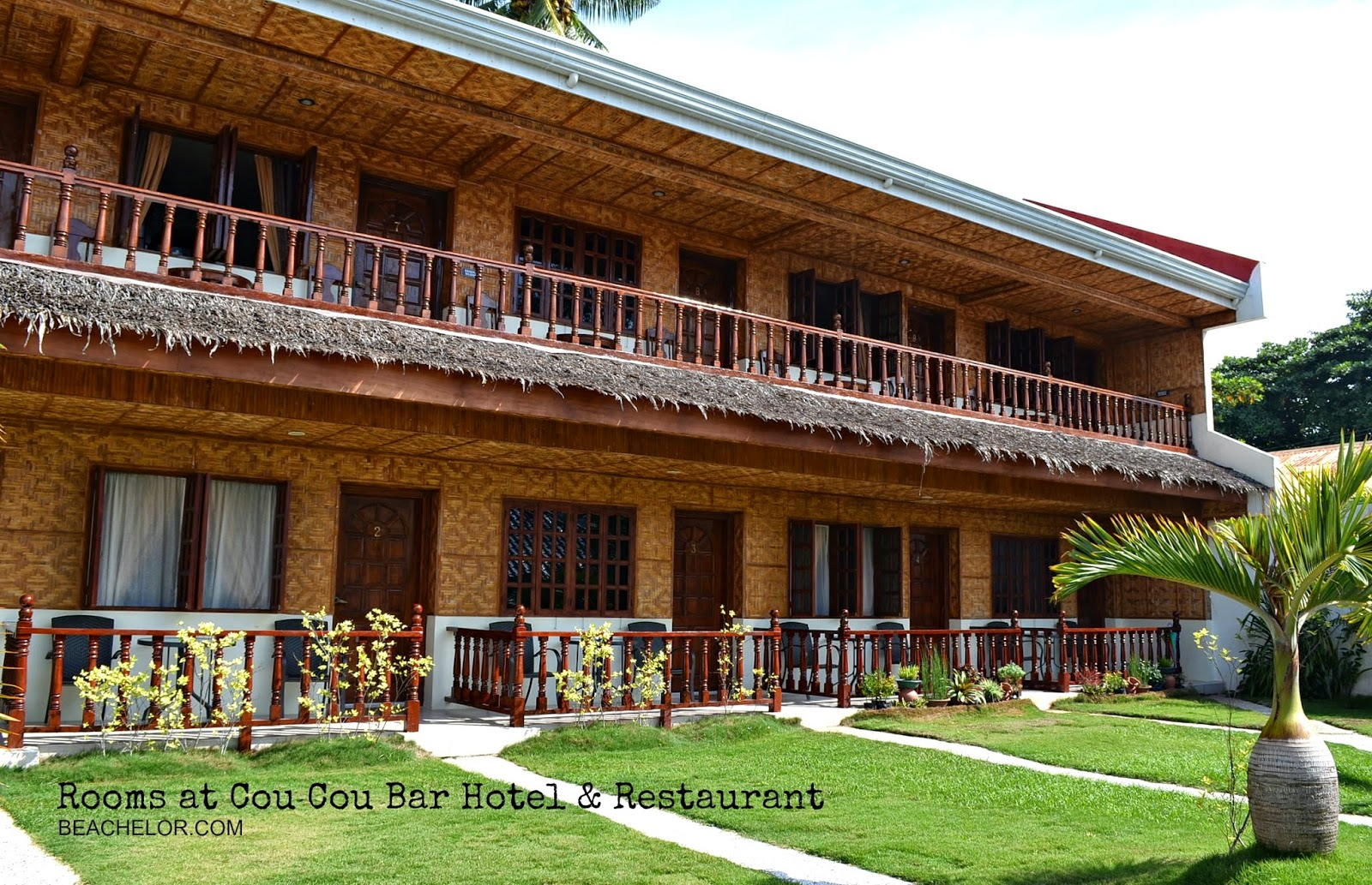 rooms of coucou bar & resto bantayan island