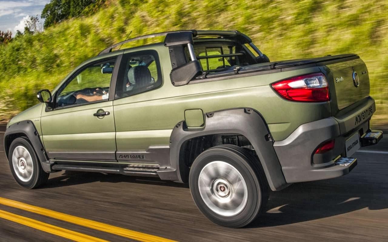 Fiat Strada - comercial leve mais vendido em fevereiro