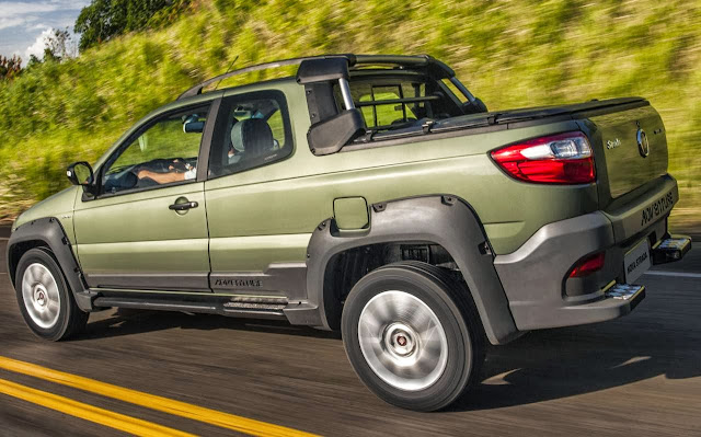 Nova Fiat Strada 2014