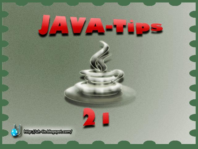 Imagen del capítulo número 21 de JAVA-Tips