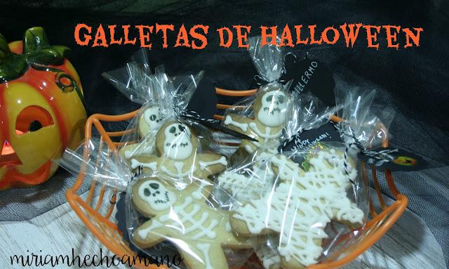 galletas momia y esqueleto