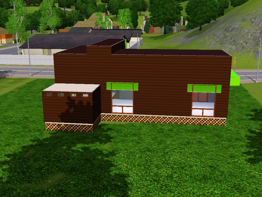 Simsilove modern house sims 3 tutorial for Modern house 3