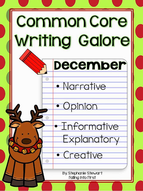 http://www.teacherspayteachers.com/Product/Common-Core-Writing-December-1002730