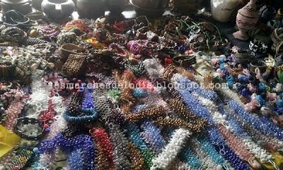 Marché des artisans - Perles - Douala - Les Marches d'Elodie