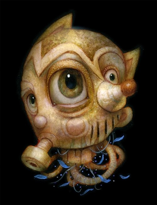 26-Thoughts-Cycle-Naoto-Hattori-Dream-or-Nightmare-Surreal-Paintings-www-designstack-co