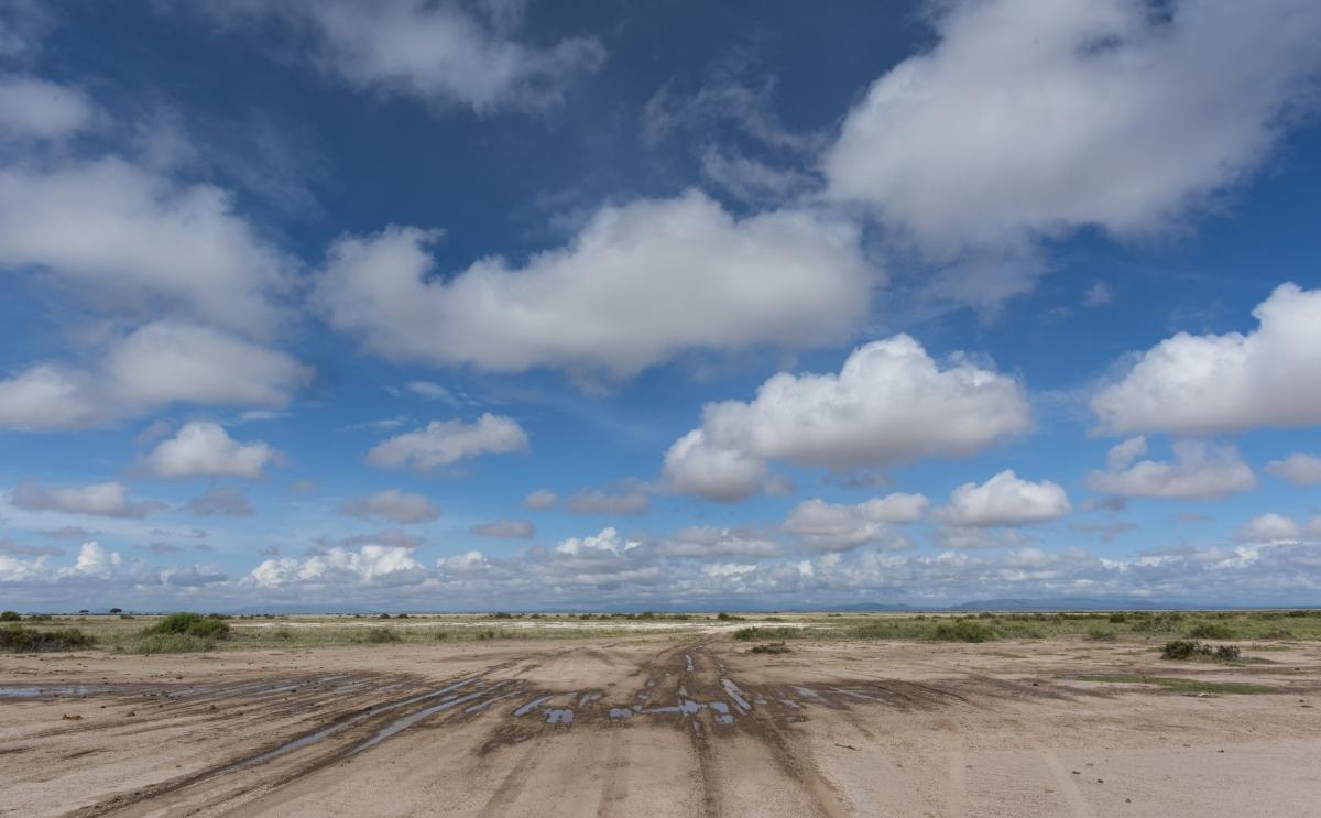Amboseli, Kenia, Lanschaft, Wolken, Afrika, Nature, Nikon, D750, Objektiv AF-S NIKKOR 20 mm 1:1,8G ED, Safari,