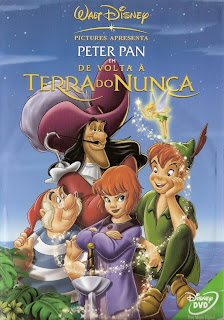 capa Download – Peter Pan   De Volta à Terra do Nunca – DVDRip AVI Dual Áudio + RMVB Dublado