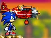 Game Sonic 2, chơi game hoạt hình sonic hay tại GameVui.biz
