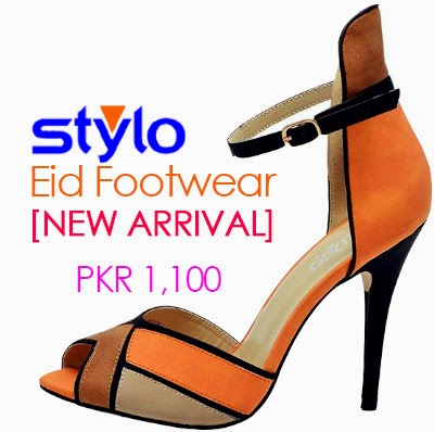 Stylo Shoes Eid Footwear Collection 2014 - Stylo Shoes New Arrivals