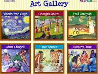 Image result for starfall art gallery