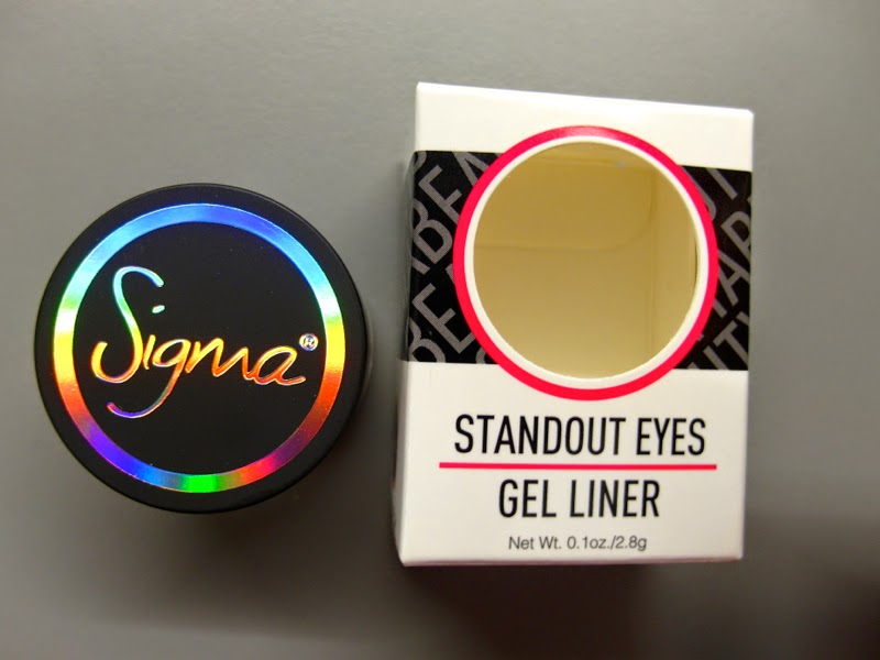 First Impression Sigma Beauty Standout Eyes Gel Liner Stunningly Ladylike Lunarrive Blog Singapore