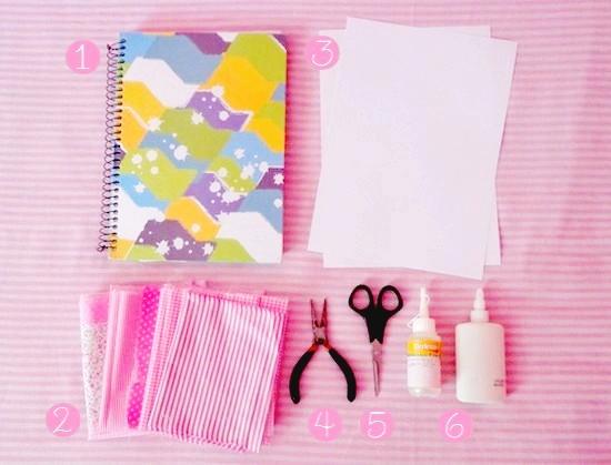 Doces Expressões Customizando Seu Caderno Para A Volta às Aulas