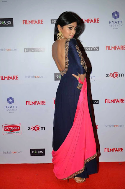 Shriya Saran Stills at 60th Filmfare Awards 2015 Pictures 4.jpg