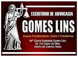 GOMES LINS ADVOCACIA - CAUSAS PREVIDENCIÁRIAS, CÍVEIS E TRABALHISTAS .