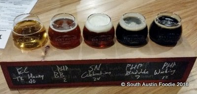 Pinthouse Pizza South Lamar -- beers