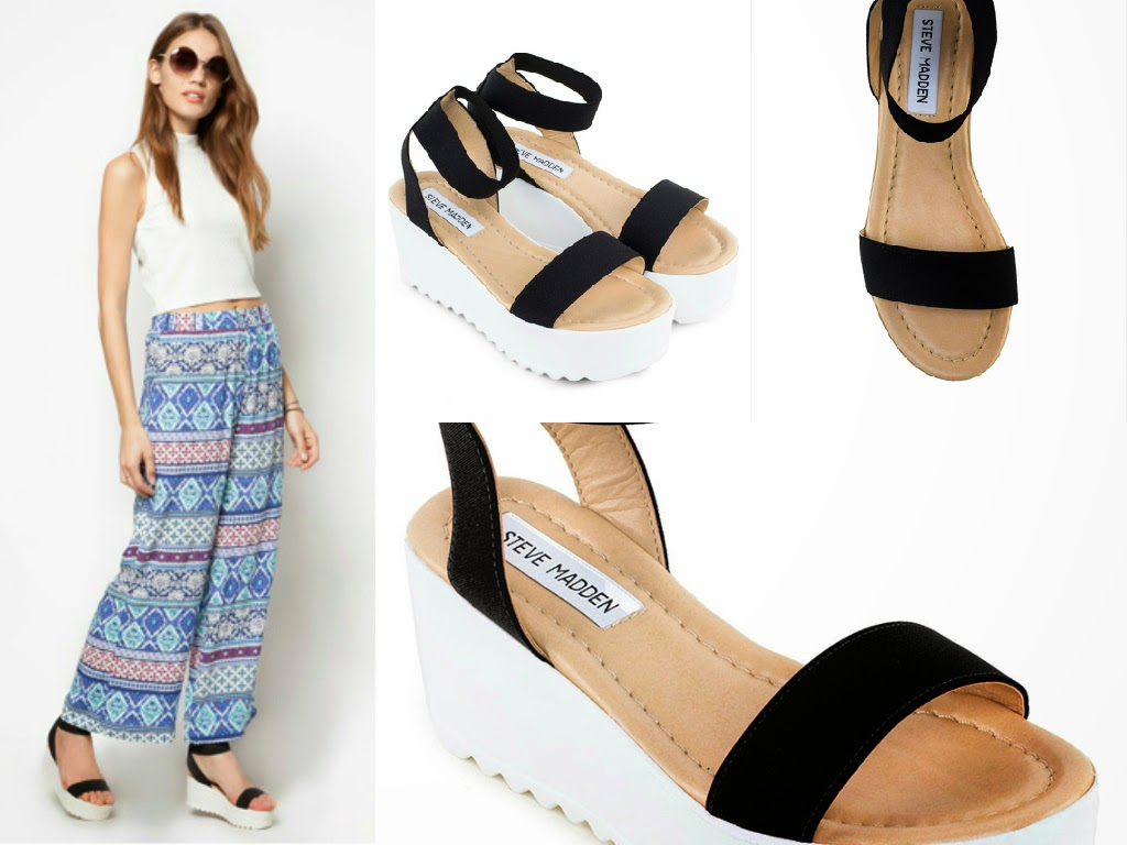 STEVE MADDEN: Shoree Platform Sandals
