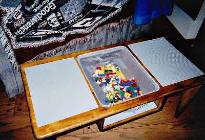Coffee Table To Lego Table