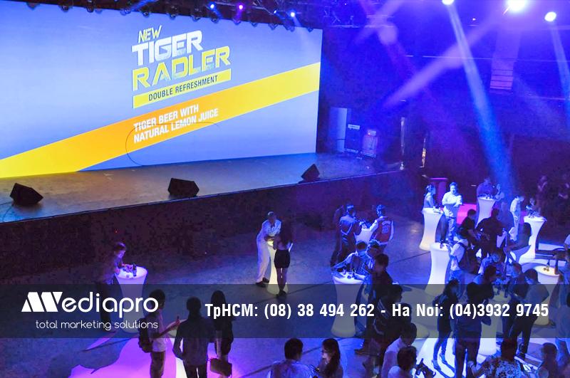 Cung Cấp thiết bị Âm Thanh, Ánh Sáng Event của Tiger do Media Pro thực hiện