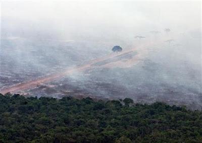 desmatamento da Amazônia - foto de Jamil Bittar/Reuters