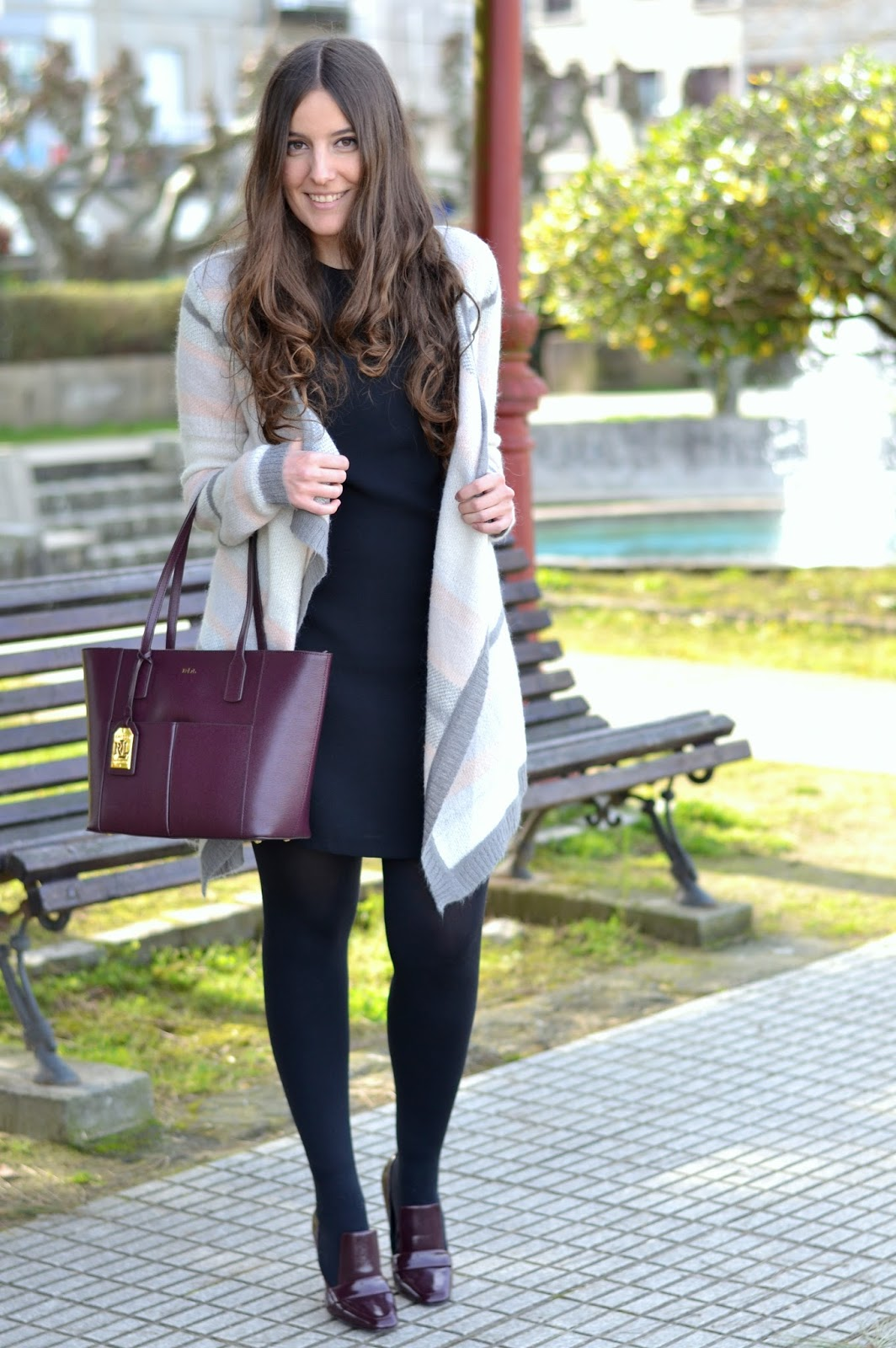 Cardigan pimkie, ralph lauren bag