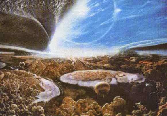 Resultado de imagen de Paisajes de otros mundos