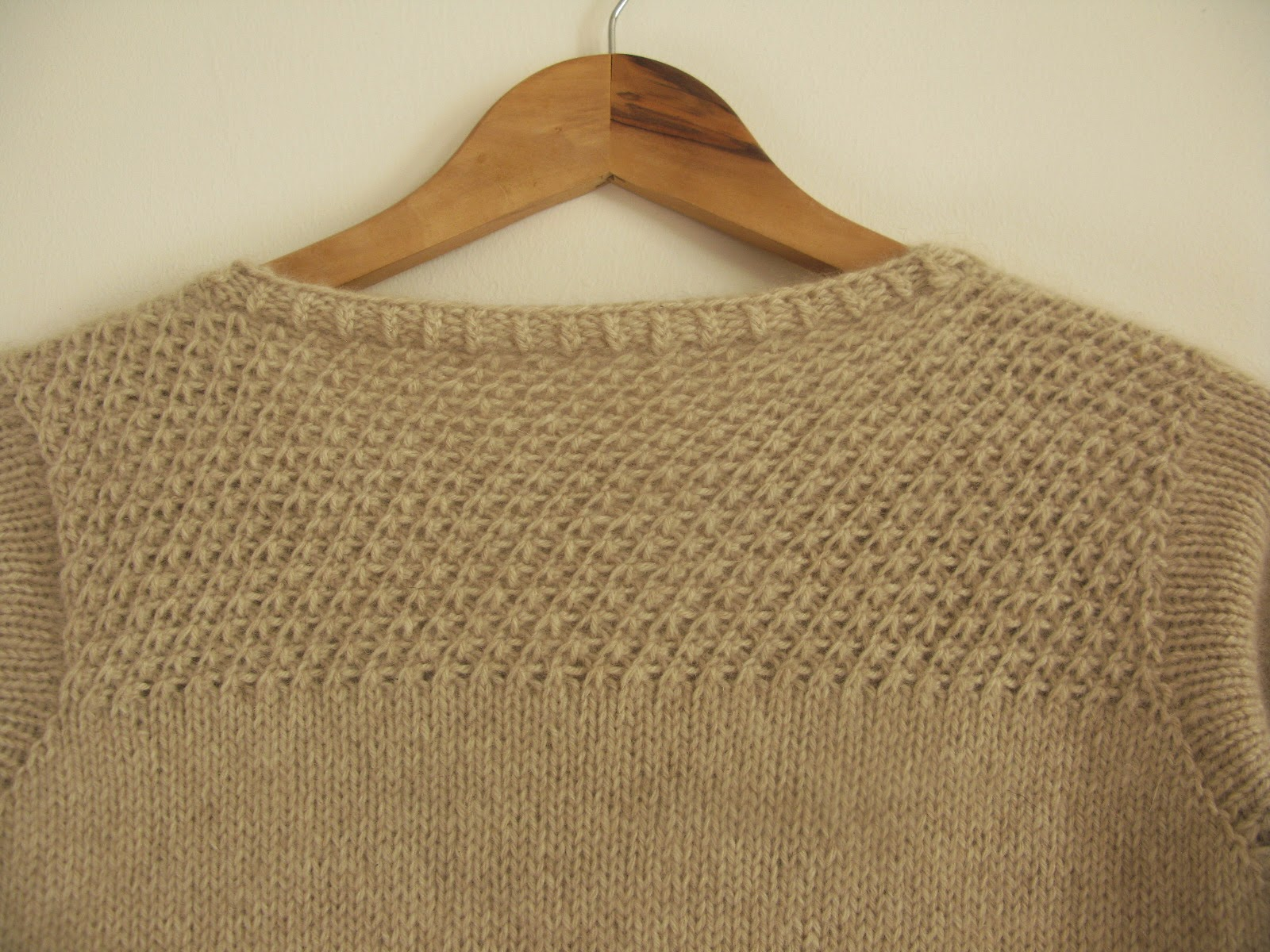 texture knit knitting pattern