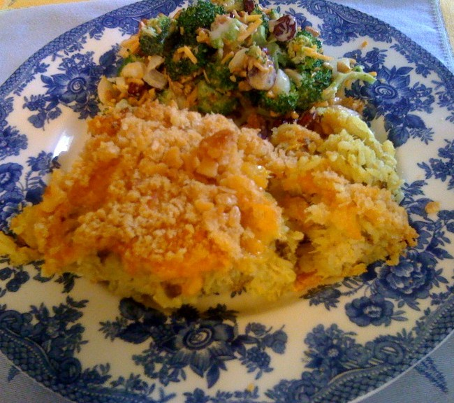 Sweet Tea and Cornbread: Chicken and Wild Rice Casserole!