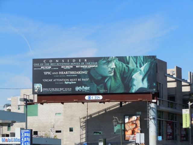 Harry Potter and Snape billboard