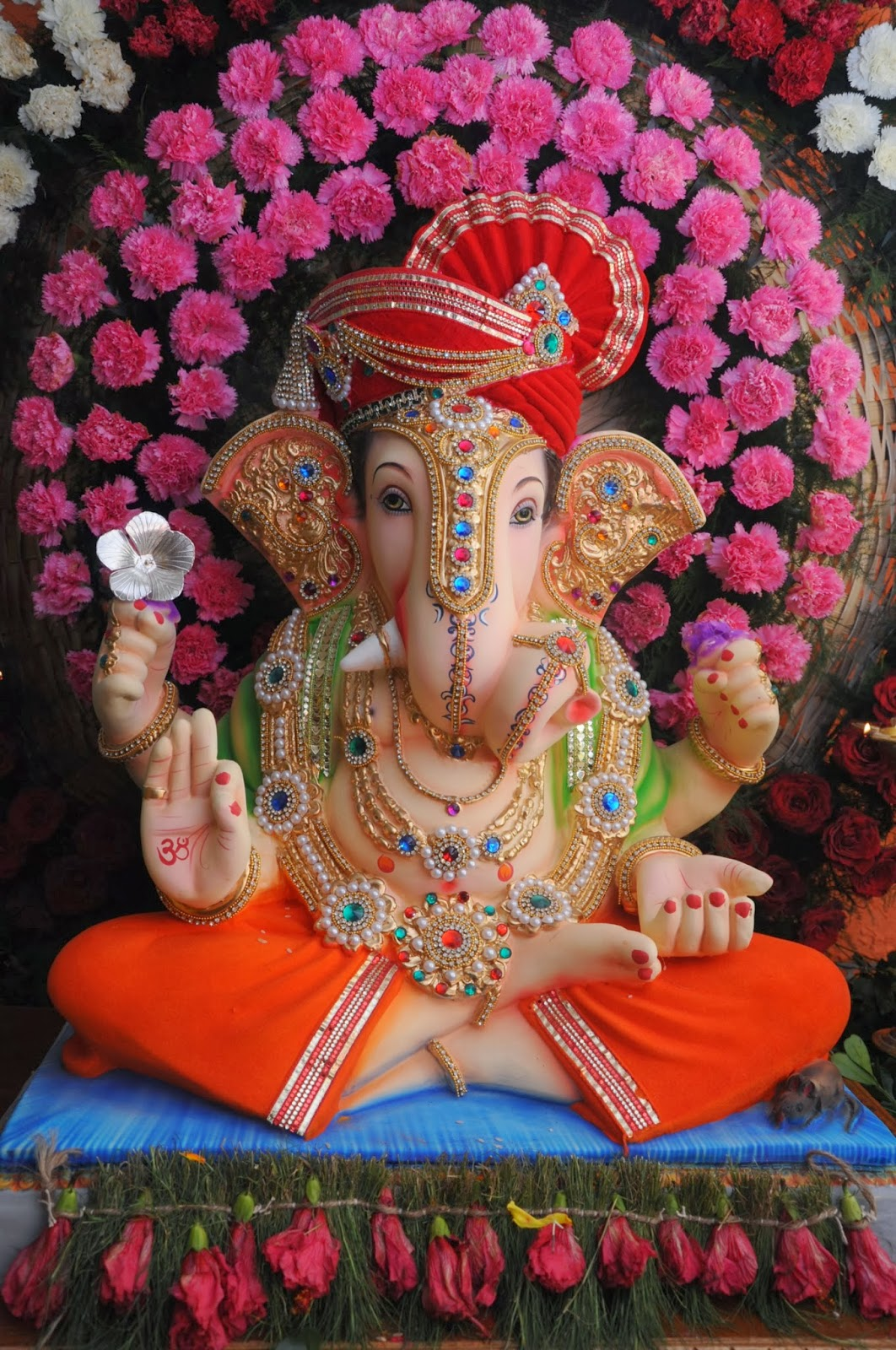 Eco friendly ganesh eco friendly decorations ideas for Decoration ganpati