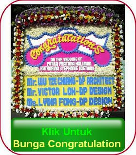bunga papan congratulation
