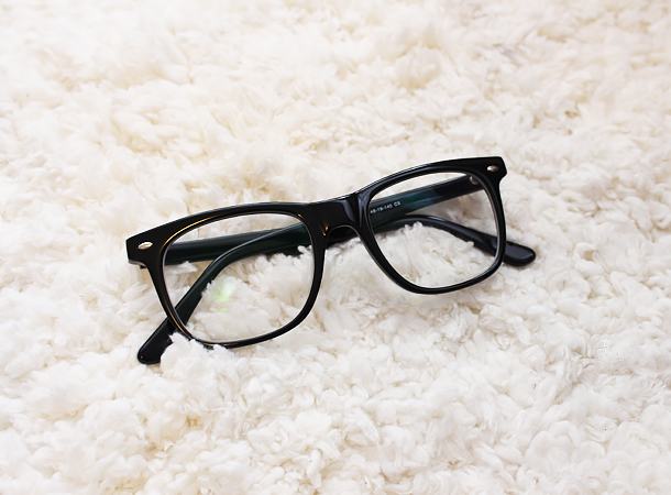 firmoo glasses review acetate f043 frames black wayfarer style pictures