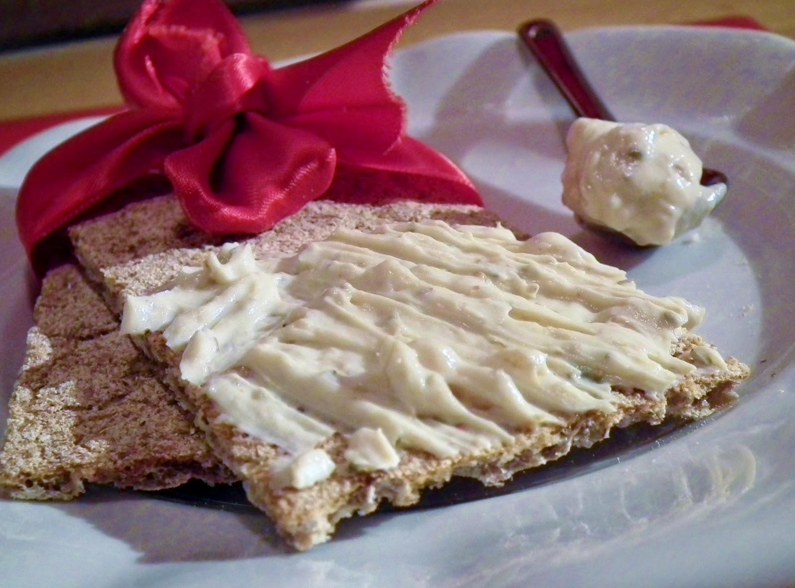 formaggio spalmabile di soia ed aromi