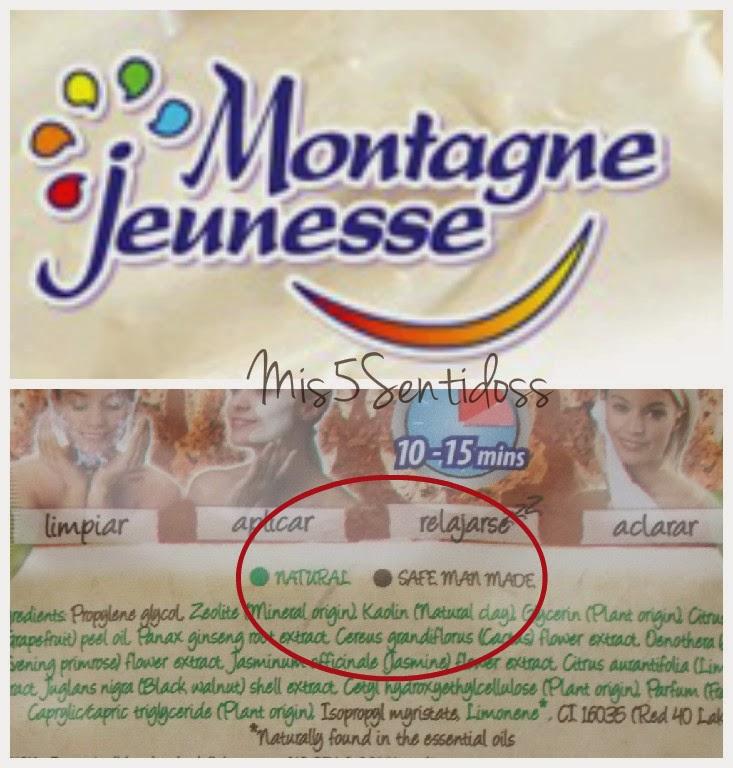 Nuevas mascarillas dúo de Montagne Jeunesse