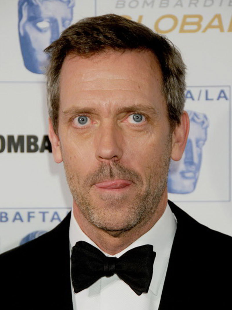 photo Hugh Laurie (born 1959)