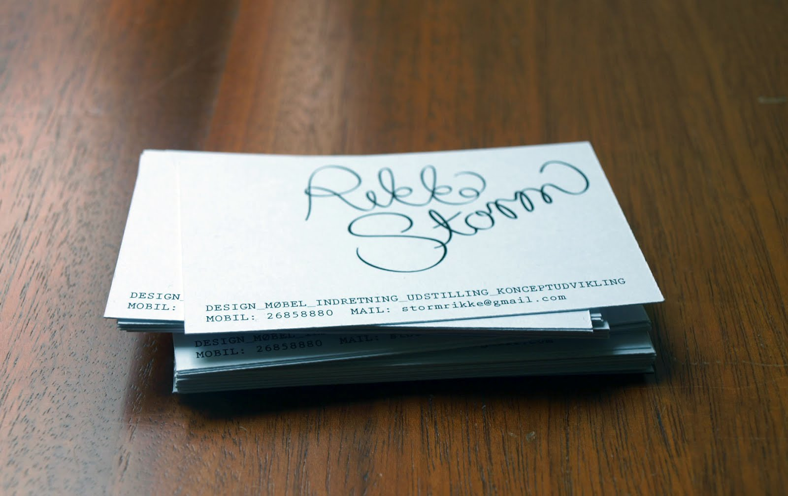 Drawings by numbers...: Identity and business cards for myself.