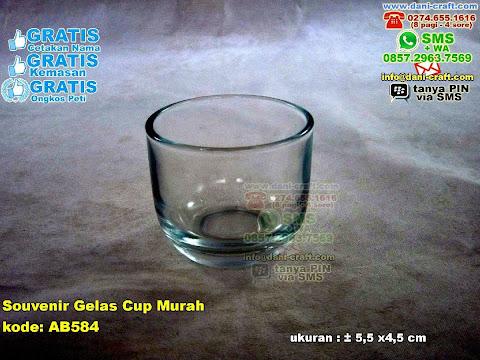 Souvenir Gelas Cup Murah