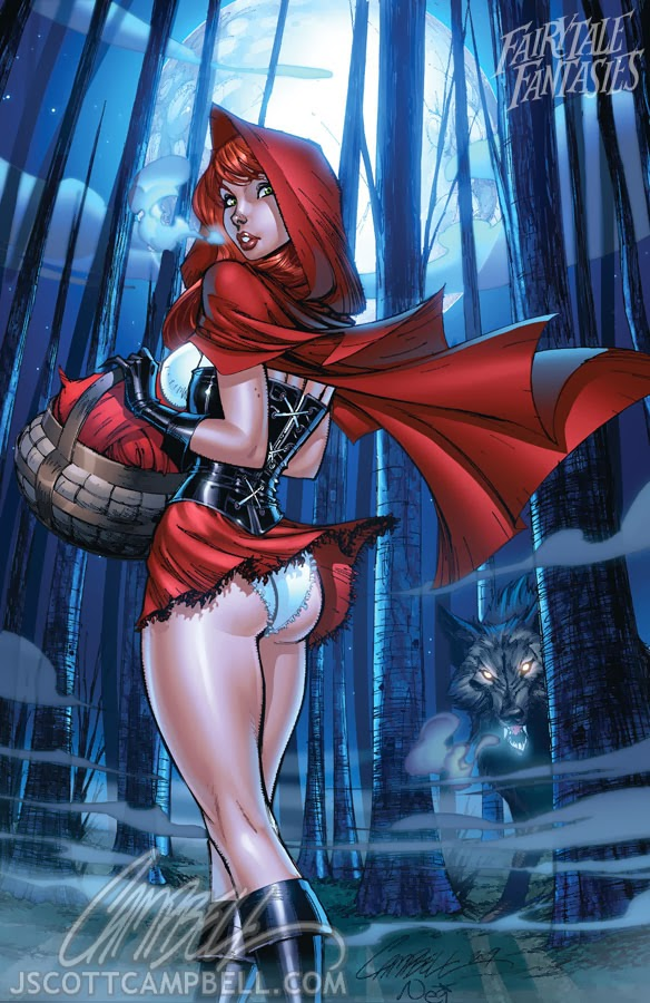 red riding hood Fairytale Fantasies Disney