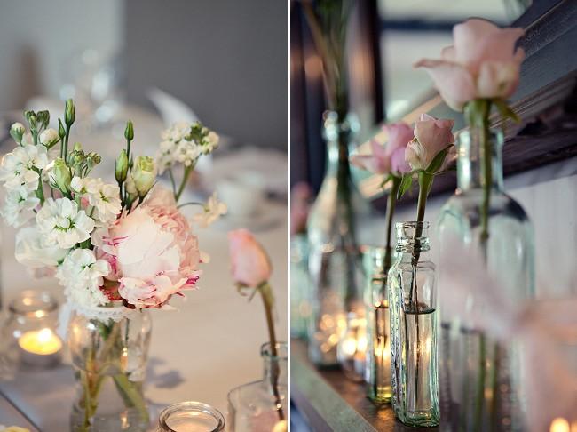 decoracao casamento garrafas de vidro:Abuse de garrafas de vidro na decoração do casamento