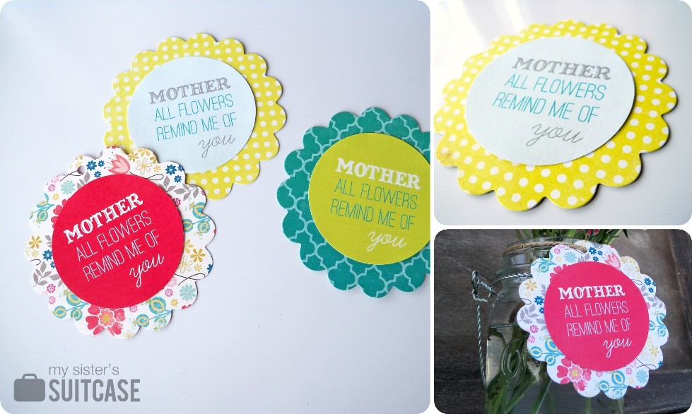 Mothers day tags free printable my sisters suitcase packed mothers day tags free printable negle Images