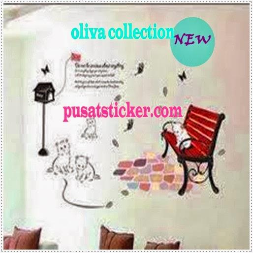wall sticker cat 4 - wall sticker murah se-jakarta