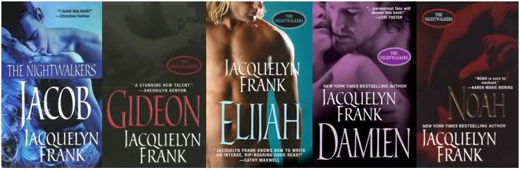 Fang Tastic Fiction Jacquelyn Frank Nightwalkers Series