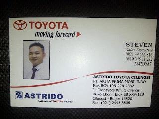Promo Toyota Cileungsi