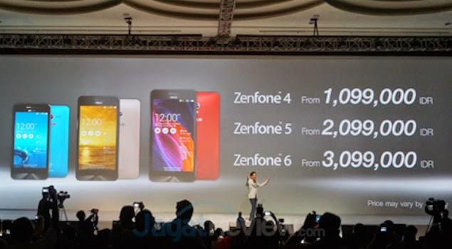 Harga smartphone terbaru ASUS ZenFone 6
