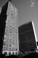 L'ONU depuis Tudor City, New York