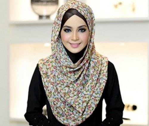 Tutorial hijab modern 2015