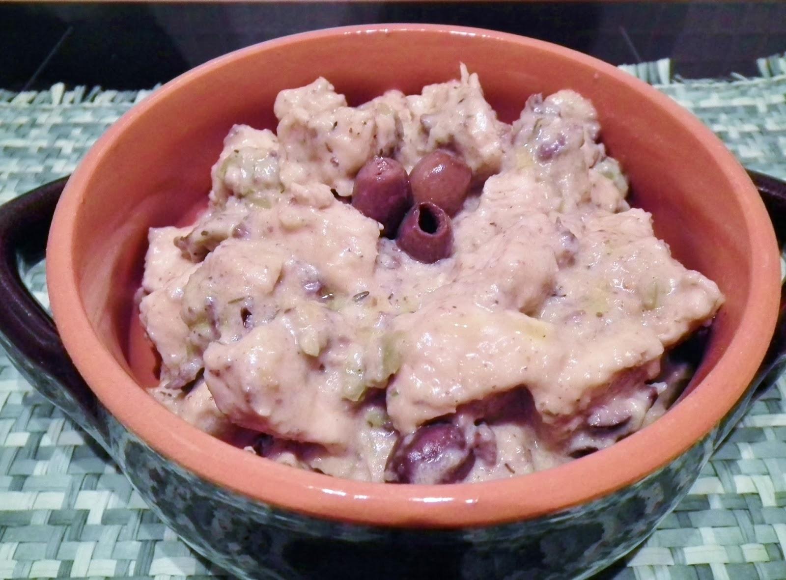spezzatino di pollo  alle olive